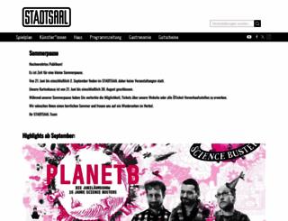 stadtsaal.com screenshot