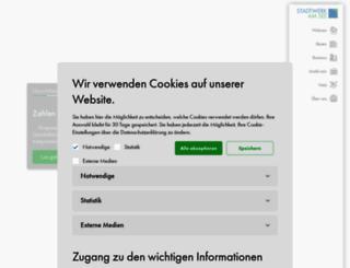 stadtwerk-am-see.de screenshot