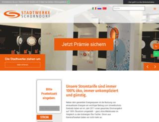 stadtwerke-schorndorf.de screenshot