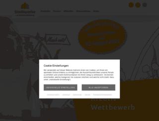 stadtwerke.wittenberg.de screenshot