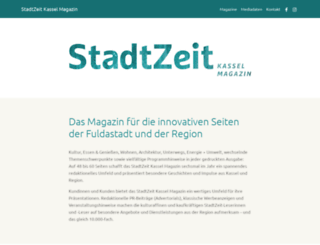 stadtzeit-kassel.de screenshot