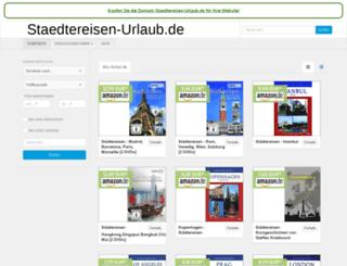 staedtereisen-urlaub.de screenshot