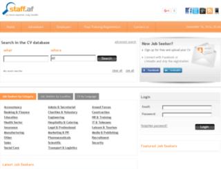staff.af screenshot