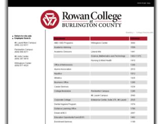 staff.bcc.edu screenshot
