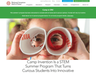 staff.campinvention.org screenshot