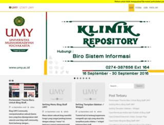 staff.umy.ac.id screenshot