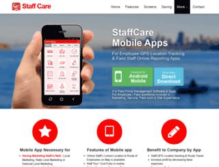 staffcare.in screenshot
