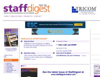 staffdigest.com screenshot