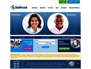 staffmark.com screenshot