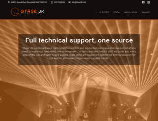 stage-uk.com screenshot