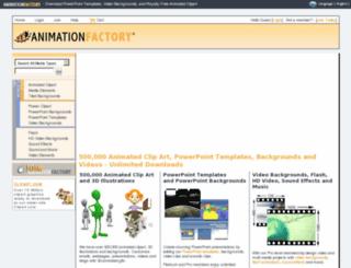 stage.animationfactory.com screenshot