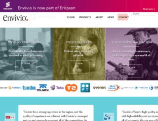 stage.envivio.com screenshot