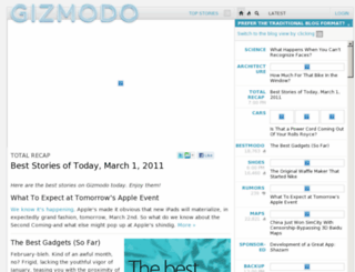 stage.gizmodo.com screenshot