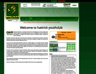 stage.hattrick-youthclub.org screenshot