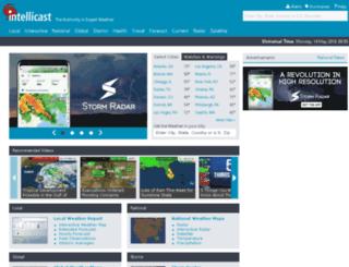 stage.intellicast.com screenshot