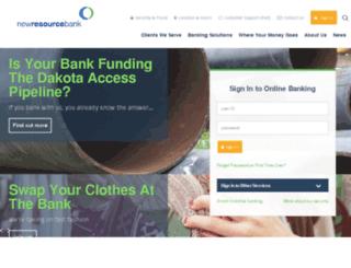 stage.newresourcebank.com screenshot