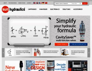 stage.sunhydraulics.com screenshot