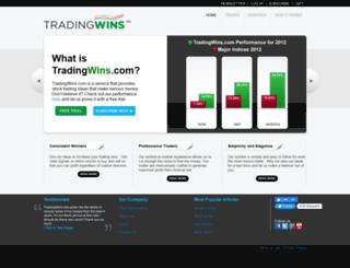 stage.tradingwins.com screenshot