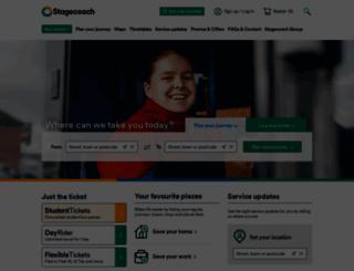stagecoach.com screenshot