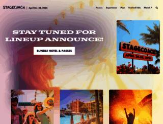 stagecoachfestival.com screenshot