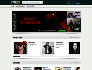 stageit.com screenshot