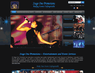 stageonepromotions.com screenshot