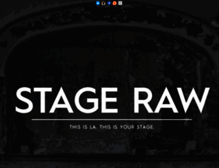 stageraw.com screenshot