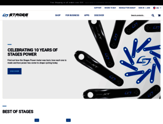 stagescycling.com screenshot