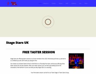 stagestars.net screenshot