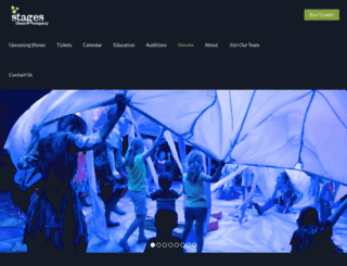 stagestheatre.org screenshot