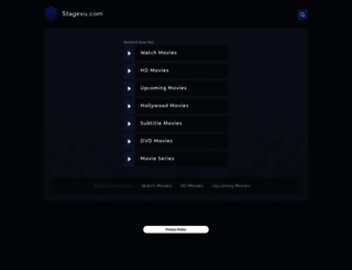stagevu.com screenshot