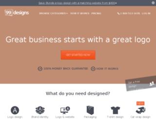 staging.99designs.com.br screenshot