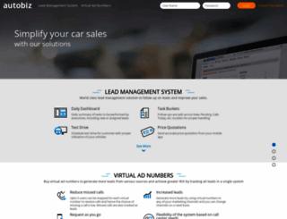 staging.autobiz.in screenshot