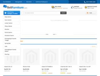 staging.belifurniture.com screenshot