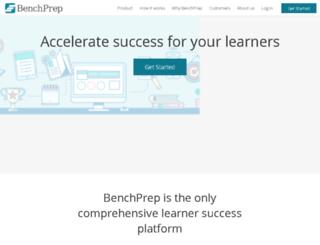staging.benchprep.com screenshot