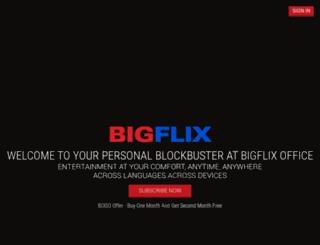 staging.bigflix.com screenshot