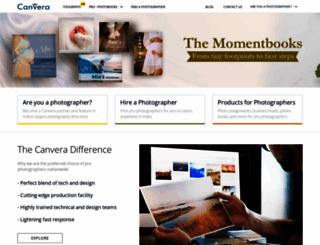 staging.canvera.com screenshot