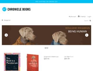 staging.chroniclebooks.com screenshot