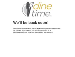 staging.dinetime.com screenshot