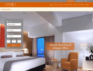 staging.harperhotels.com screenshot