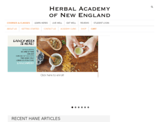 staging.herbalacademyofne.com screenshot