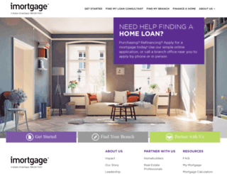 staging.imortgage.com screenshot