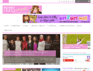 staging.momswithgirls.com screenshot