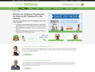 staging.petwellbeing.com screenshot