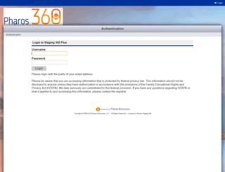 staging.pharos360.com screenshot