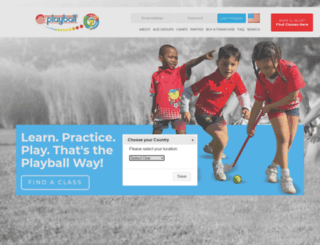 staging.playballkids.com screenshot
