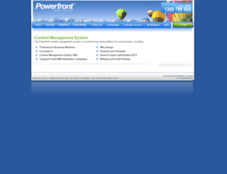 staging.powerfront.com screenshot