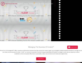 staging.primefocustechnologies.com screenshot