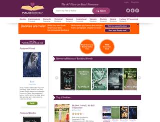 staging.publicbookshelf.com screenshot