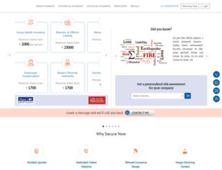 staging.securenowindia.com screenshot